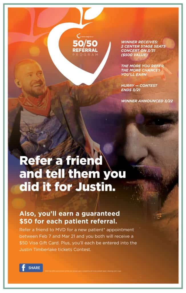You could win tickets to see Justin Timberlake in concert!